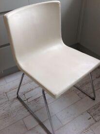 Ikea Bernhard leather dining chairs