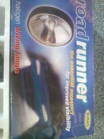 Ring Roadrunner twin halogen driving lamps
