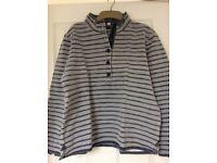 Seasalt ladies grey stripe top