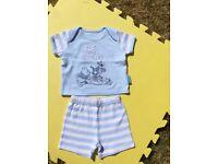 0-3 month summer boy clothes