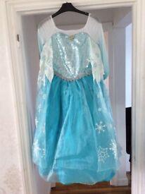 Deluxe frozen Elsa costume age 11/12