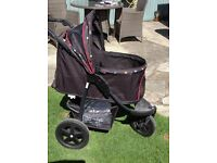 PET BUGGY - ALL TERRAIN - FOLDS FOR EASY STORAGE/ CARRYING