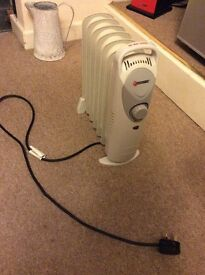 Small oil heater