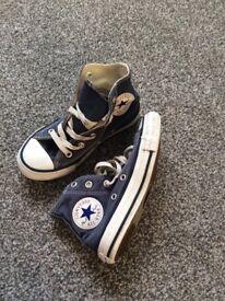 Blue converse size 11