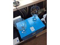 Gin glasses - set of 6 rink rink