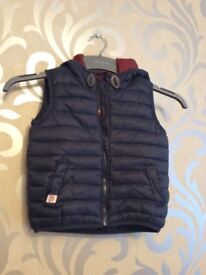 BRAND NEW NEXT GILET JACKET - SIZE 1-2 YEARS