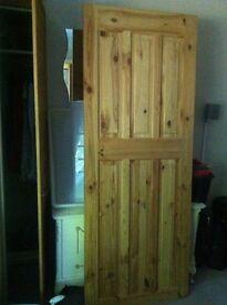 New 6 Panel Pine Door