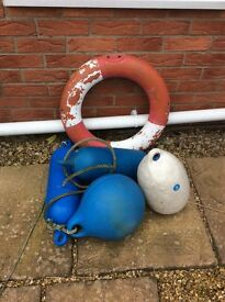 Old life bouys
