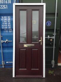 Front door never fitted