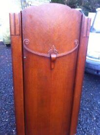 Ornate compact vintage wardrobe