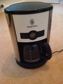 Russel Hobbs filter coffee maker