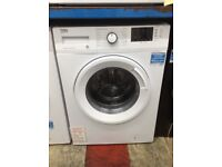Beko 9kg 1400spin A+++ white washing machine. £190 new/graded 12 month Gtee