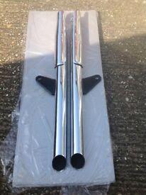 Exhaust system for 2009 Triumph Speedmaster. Excellent condition £100