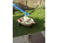 Little tikes pirate water play table