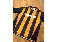 Hull city signed football shirt 2006-2007