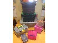 Storage boxes - various sizes