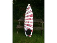 """5' 11"""" surfboard only used twice Excellent condition"""
