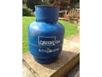 Calor gas bottle full unused 4.5 kg