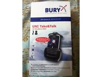Bury System 8 Take&Talk Cradle Dock with Bluetooth for BlackBerry 9000
