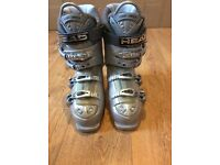 Ladies Ski Boots Size 24.0 - 24.5