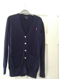 Girls Ralph Lauren cardigan age 12-14