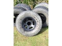 Land Rover defender alloy wheels
