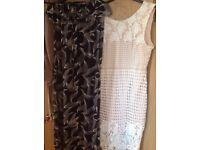 Clothes bundle sizes 16 & 18 some never worn dresses worn once from quiz
