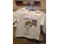 Baby girl top 6-9 months BRAND NEW WITH TAGS