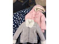 Girls coats Ages 4-5