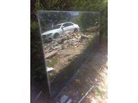 GLASS 3190 x 1365 x 18 mm picture window double glazed