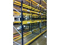 LINK 51 HEAVY DUTY INDUSTRIAL COMMERCIAL WAREHOUSE LONGSPAN PALLET RACKING