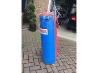 Lonesdale Punching bag, red and blue
