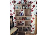 Matching furniture and display cabinets and sidetable £80 the set