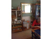 Kitchen Cabinet (Blue)