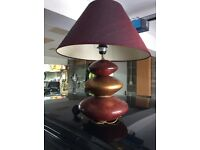 Pebble table lamp also floor light also ceiling light