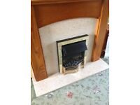Fireplace, Surround, Hearth & Electric Fire