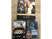 Muscle book/ dvds