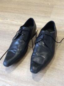 Men's size UK 13 Shoes, Black