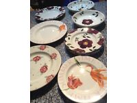 Emma Bridgwater plates and bowls 15 items - reduced