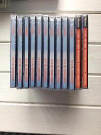 9 x Blank cd- r & 2 x blank cd- rw