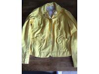 Girls Yellow Jacket Age 10 Years