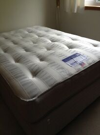 Double divan bed in excellent condition. Not be missed