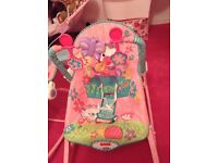 Fisher price rocker chair, with vibrate