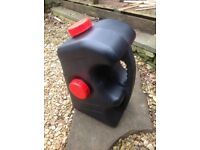 Waster container jerry can for caravan/motorhome
