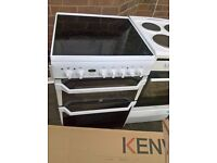 Indesit White Ceramic electric cooker 60cm...free delivery