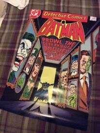 Batman rogues gallery comic cover poster