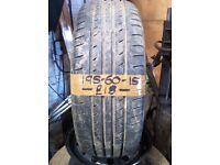 195-60-15 Linglong Greenmax Hp010 88V 5mm Part Worn Tyre