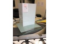 Stainless steel and glass cooker hood new 12 mth gtee