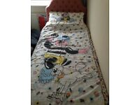 Bertie Bassett single bed duvet bed set