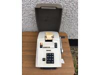Japanese Decimo 10 1/2 Vintage Receipt Machine